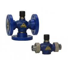 Седельный регулирующий клапан RV 111 (COMAR line) вр-вр, св-св, фланц., LDM