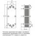 Теплообменник пластинчатый разборный ALFA LAVAL AQ1A-FG