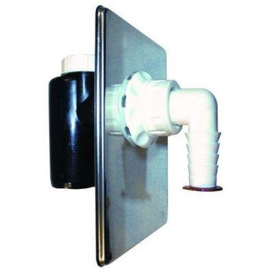 Сифон HL (Hutterer Lechner) 440 встроенный для стиральной или посудомоечной машины DN 40/50