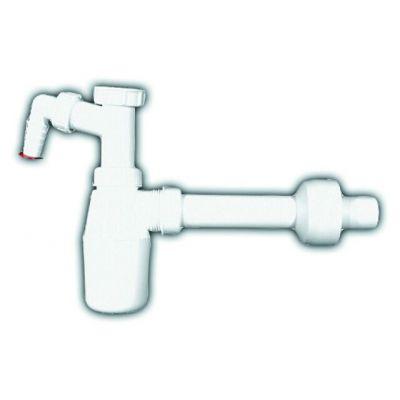 """Сифон HL (Hutterer Lechner) 132.1 бутылочный 5/4"""" для умывальника, подключение стиральной или посудомоечной машины"""