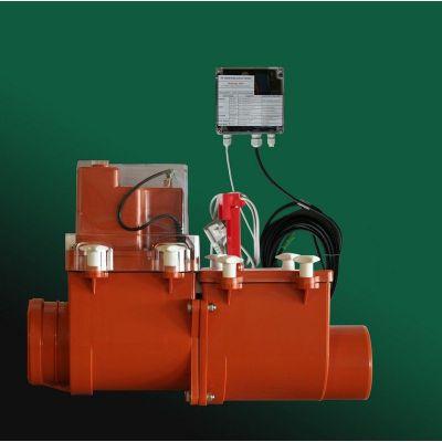 Канализационный затвор HL (Hutterer Lechner) 715.2EPC с электроприводом, подключение сигнализации, контроллера DN 160