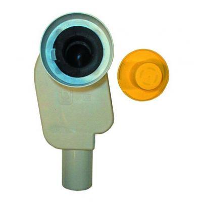 Сифон HL (Hutterer Lechner) 134.0 встраиваемый в стену с вынимаемым сифонным вкладышем