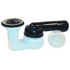 Сифон HL (Hutterer Lechner) 514 для душевого поддона со сливным отверстием 52 мм DN 40/50