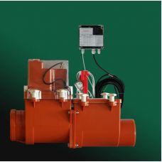 Канализационный затвор HL (Hutterer Lechner) 710.2EPC с электроприводом, подключение сигнализации, контроллера DN 110