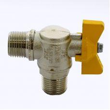 Кран шаровой ITAP 060 для газа НН угловой бабочка