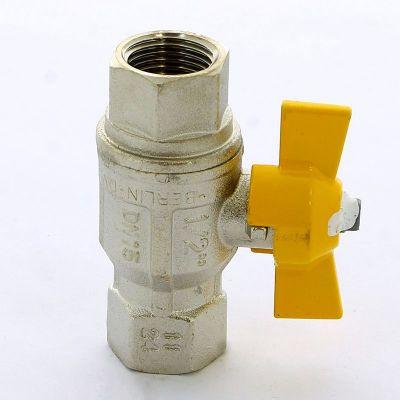 Кран шаровой ITAP 072 для газа ВВ BERLIN бабочка усиленный