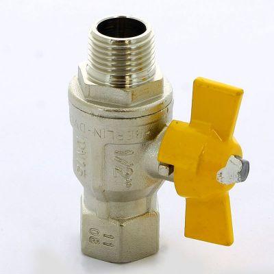 Кран шаровой ITAP 073 для газа НВ BERLIN бабочка усиленный