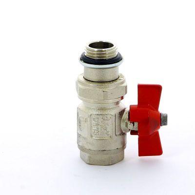 Кран шаровой ITAP 098S НВ с разъемным соединением и уплотнением IDEAL бабочка