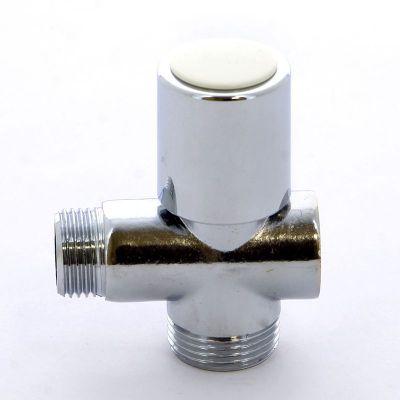 Вентиль ITAP 255 для стиральных машин проходной хромированный