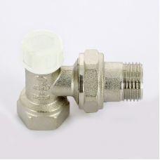 Вентиль ITAP 396 НВ угловой для радиаторов обратный с разъемным соединением