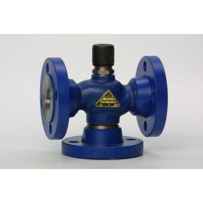 Трехходовой седельный регулирующий клапан RV111 COMAR line