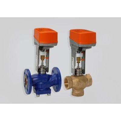 Трехходовой регулирующий клапан RV102 и RV103