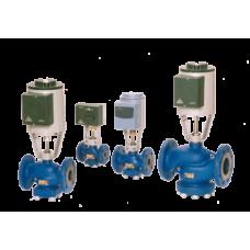 Трехходовые регулирующие и запорные клапаны серии RV2xx