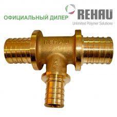 Тройник Rehau Rautitan 50-25-50 RX с уменьш боковым проходом