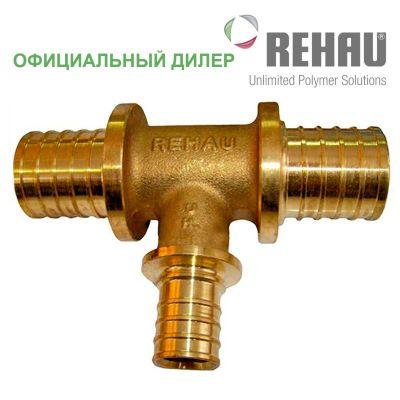 Тройник Rehau Rautitan 50-40-50 RX с уменьш боковым проходом