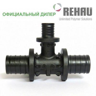 Тройник Rehau Rautitan 25-16-25 PX с уменьш боковым проходом