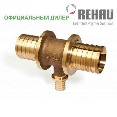 Тройник Rehau Rautitan 63-50-63 RX с уменьш боковым проходом