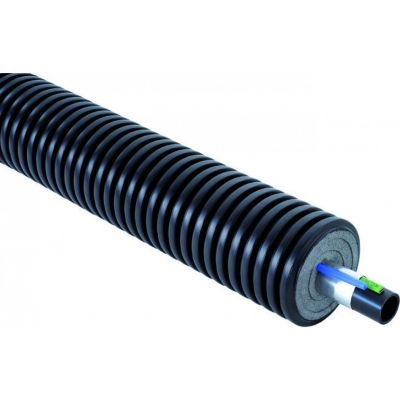 Теплотрасса Uponor Ecoflex Supra PLUS 32 с греющим кабелем бухта 150 м
