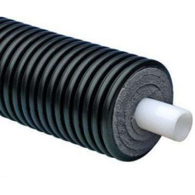 Теплотрасса Uponor Ecoflex Thermo Single 75X10,3/200 бухта 100 м