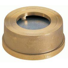 Клапан обратный Zetkama 275H пружинный латунный межфланцевый