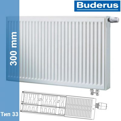 Радиатор Buderus Logatrend VK-Profil 33 300 600