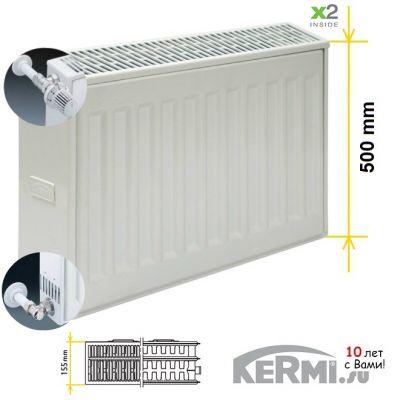 Радиатор Kermi FKO 33 500 1200