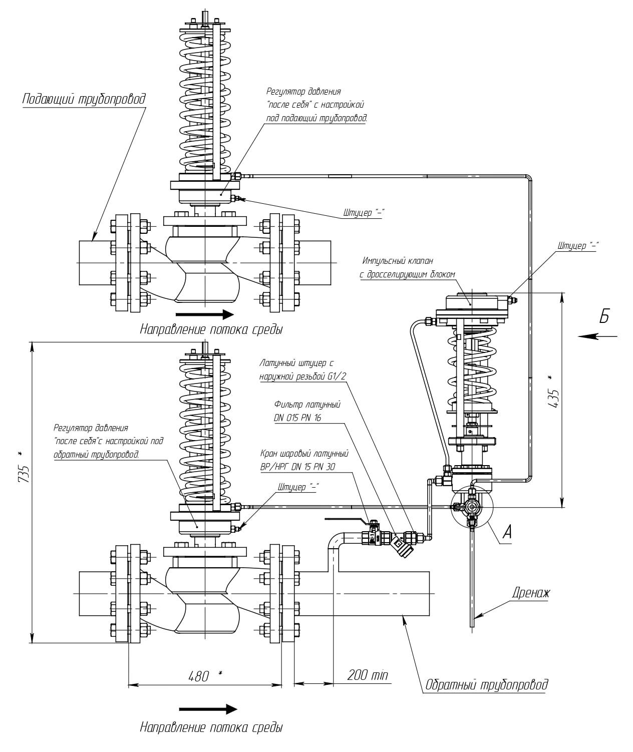 Система защиты Broen АЗПД-20-150/16-6 - нажмите, чтобы увеличить