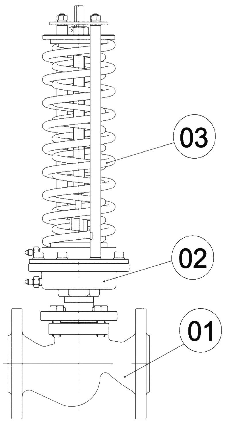 Общая конструкция регулятора
