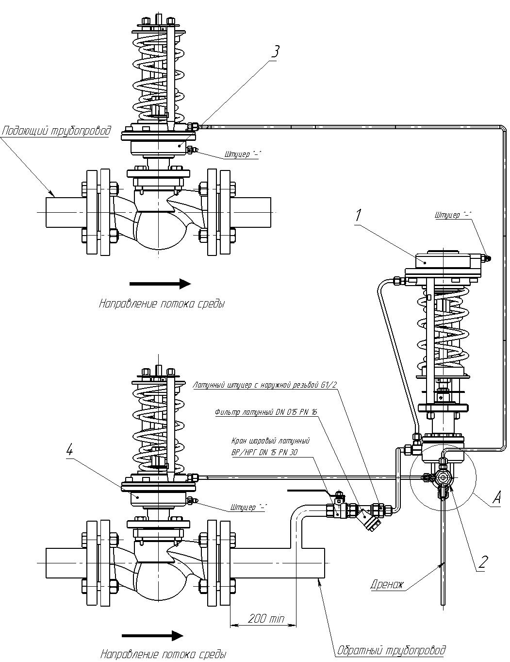 Автоматическая защита от превышения давления АЗПД-20